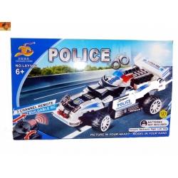 Stavebnice Policejní formule 121dílná