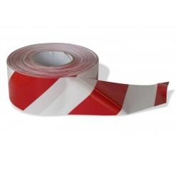 Výstražná vytyčovací páska  červenobílá - 100m
