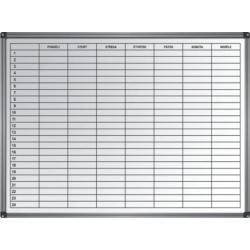 Tabule plánovací týdenní 600 x 900 mm