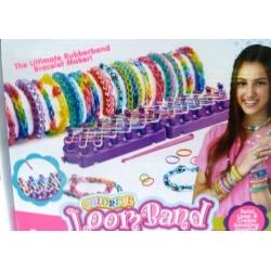 Loom bands set - Velká sada na výrobu náramků