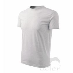 Tričko pánské Heavy 200, světle šedý melír