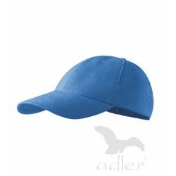 Kšiltovka 6P   azurově modrá
