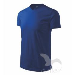 Tričko Heavy V-neck pánské  královská modrá