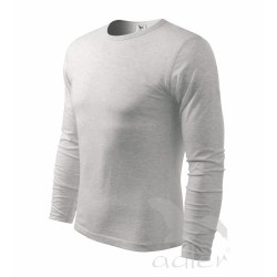Triko pánské Fit-T Long Sleeve dlouhý rukáv  sv.šedý melír