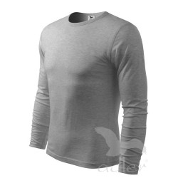 Triko pánské Fit-T Long Sleeve dlouhý rukáv  tm.šedý melír