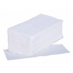 Papírové ručníky ZZ bílé