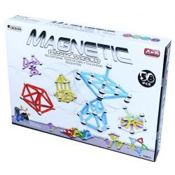 Stavebnice Magnetická 3D 58 dílků