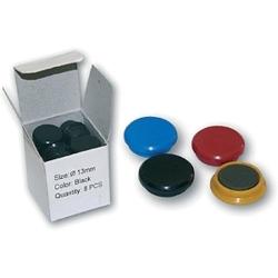 Magnety průměr 24mm / 6ks - mix barev