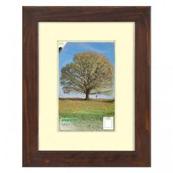 Dřevěný rámeček MODENA, A2 / 42 x 59,4 cm - hnědý