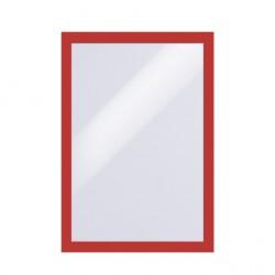 Samolepící rámeček DURAFRAME  A4  - červený