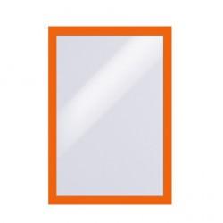 Samolepící rámeček DURAFRAME  A4  - oranžový