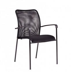 Konferenční židle TRITON BLACK -  antracit