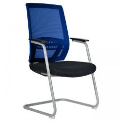 Konferenční židle ABOVE / S - modrá