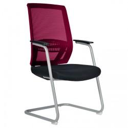 Konferenční židle ABOVE / S - vínová