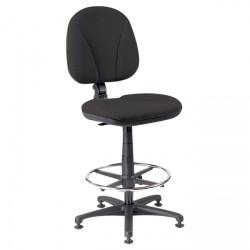 Židle pokladní 1040 ERGO + EXTEND v.n. - C11 - černá