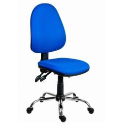 Židle kancelářská PANTHER ASYN C  - modrá