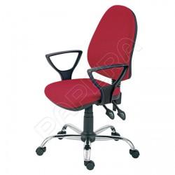 Židle kancelářská PANTHER ASYN C  - červená