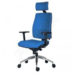 Židle kancelářská ARMIN 1880 SYN ALU PDH - sv.modrá