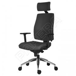 Židle kancelářská ARMIN 1880 SYN ALU PDH - černá