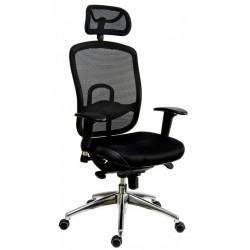 Židle pracovní OKLAHOMA PDH - černá