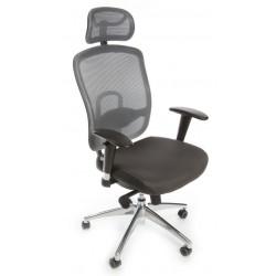 Židle pracovní OKLAHOMA PDH - šedá