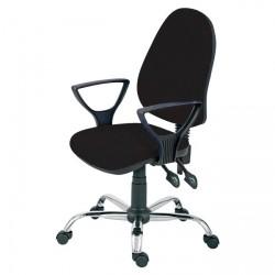 Židle kancelářská PANTHER ASYN C  - černá