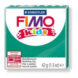 Modelovací hmota 42g FIMO kids - tm. zelená