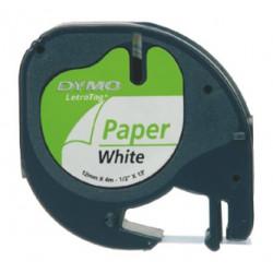 DYMO Letratag - páska papírová 12mmx4m