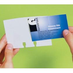 Karty do rotačního vizitkáře VISIFIX / 100 ks
