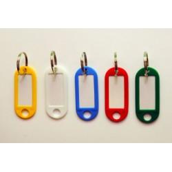 Jmenovky na klíče STANDARD - mix barev