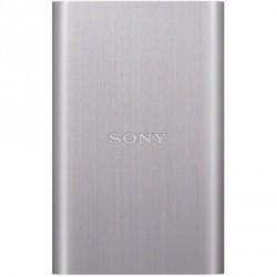 """SONY HDD 2.5"""" 500GB USB 3.0 stříbrný, hliníkový, externí harddisk"""