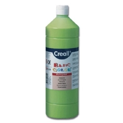 Temperové barvy Creall - Basic color - světle zelená