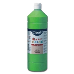 Temperové barvy Creall - Basic color - středně zelená