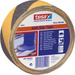 Protiskluzová páska výstražná TESA černo - žlutá