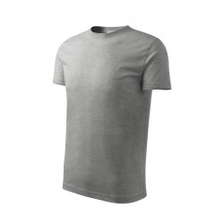 Tričko pánské CLASSIC NEW tmavě šedý melír