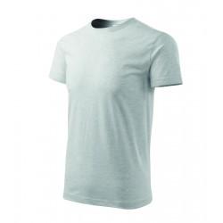 Tričko pánské BASIC sv.šedý melír