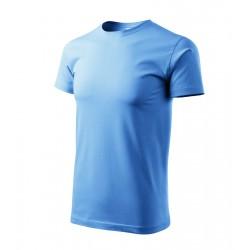 Tričko pánské BASIC nebesky modré