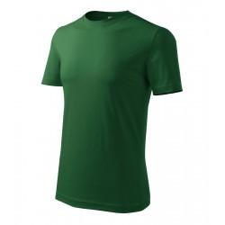 Tričko pánské BASIC lahvově zelené