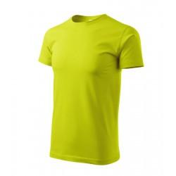 Tričko pánské BASIC limetkové