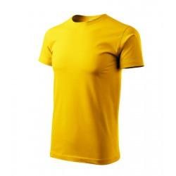 Tričko pánské BASIC žluté