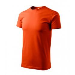 Tričko pánské BASIC oranžové