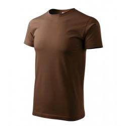 Tričko pánské BASIC čokoládové