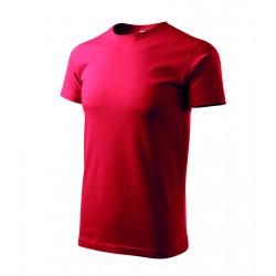 Tričko pánské BASIC červené