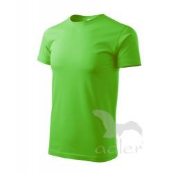 Tričko pánské BASIC apple green