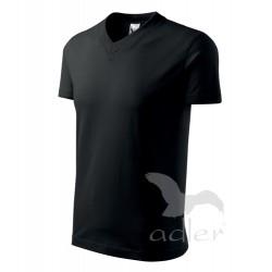 Tričko pánské V-NECK černé