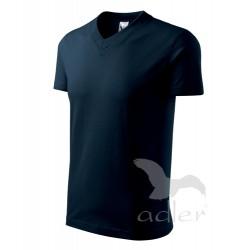 Tričko pánské V-NECK tmavě modré