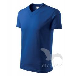 Tričko pánské V-NECK královská modrá