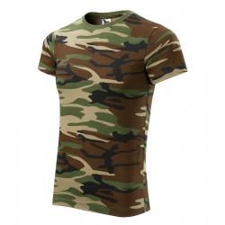Tričko pánské CAMOUFLAGE brown
