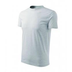 Tričko pánské HEAVY NEW sv.šedý melír