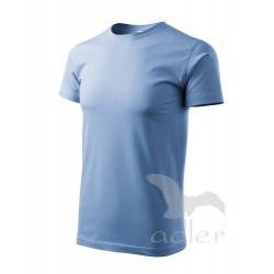 Tričko pánské HEAVY NEW nebesky modré